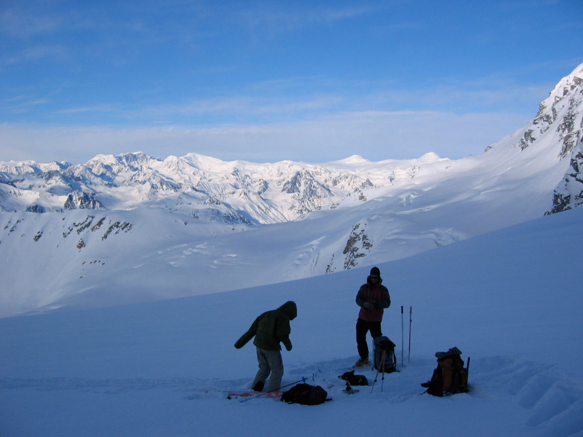 AK Backcountry Ski Trips