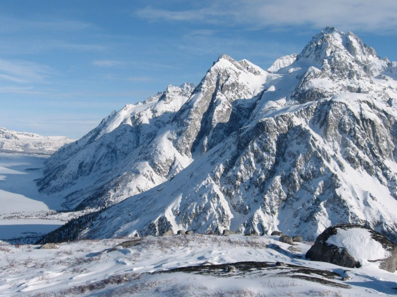 Skiing Alaska Tours