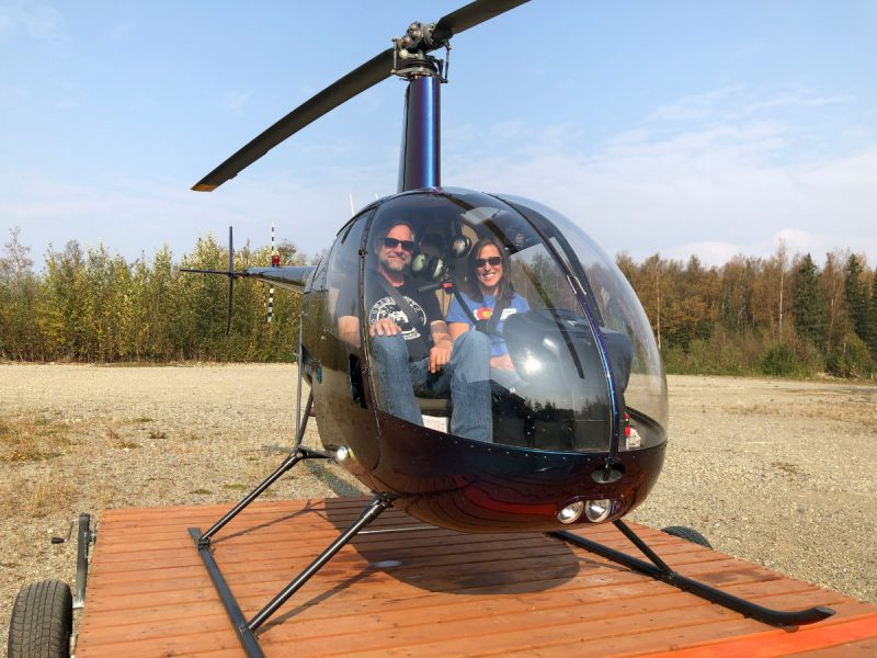 Alaska Fly Your Own Helicopter Tour