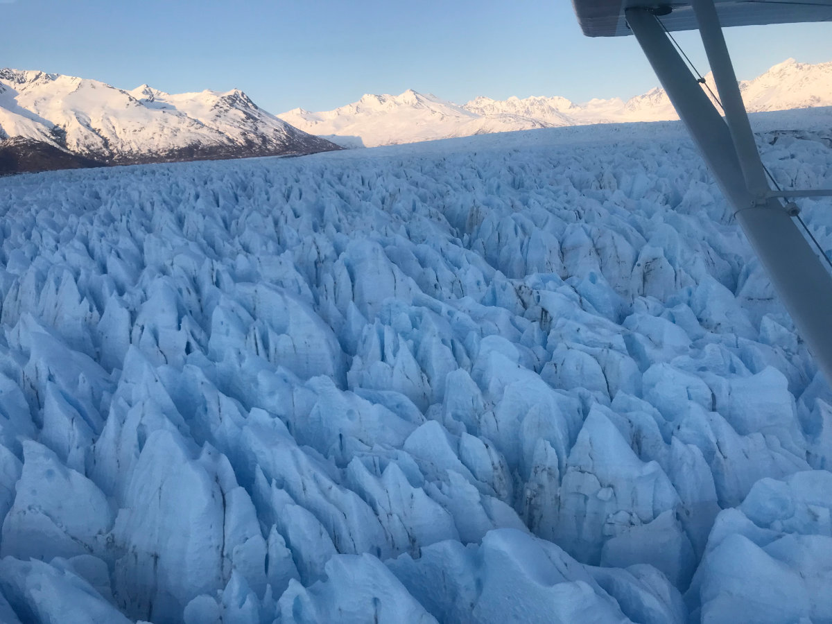 Alaska Glacier Flightseeing Tour